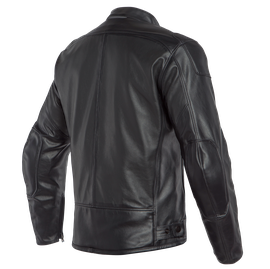 BARDO PERF. LEATHER JACKET BLACK- Chaquetas