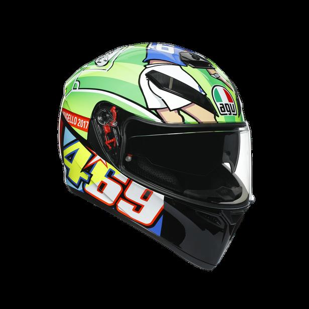 K3 SV E2205 TOP - ROSSI MUGELLO 2017 - Cascos