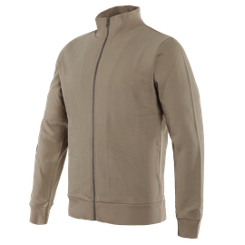 D72 FULL-ZIP SWEATSHIRT TAUPE-GRAY