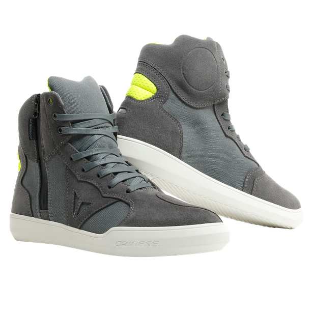 METROPOLIS D-WP SHOES ANTHRACITE/FLUO-YELLOW- D-WP®