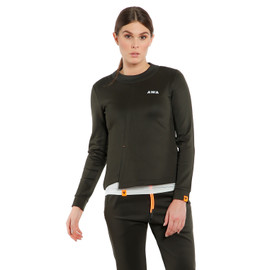 AWA BLACK SOFT FLEECE WMN NINE-IRON- Shirts