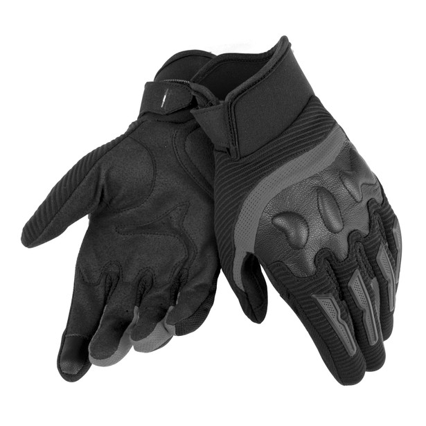 AIR FRAME UNISEX GLOVES BLACK/BLACK- Textil