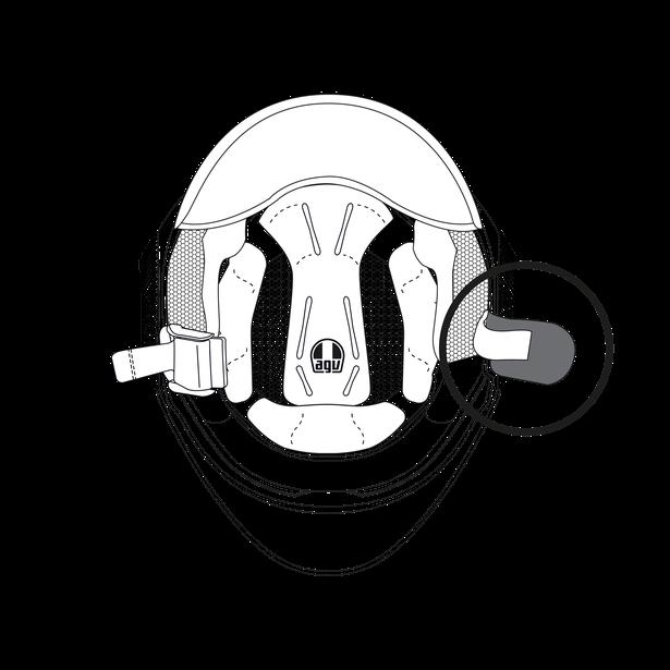 CHINSTRAP PAD ORBYT - Zubehör