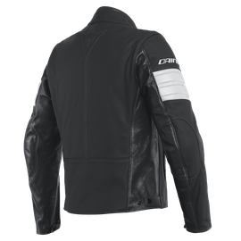 SAN DIEGO LEATHER JACKET BLACK- Jackets
