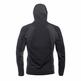 AWA MID HOODED FULL ZIP MAN STRETCH-LIMO/STRETCH-LIMO- AWA