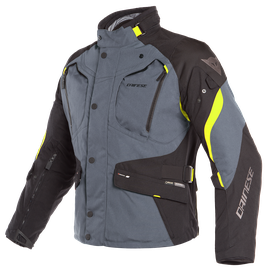 DOLOMITI GORE-TEX JACKET EBONY/BLACK/FLUO-YELLOW- Gore-Tex®