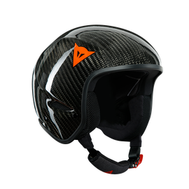 GT CARBON WC HELMET CARBON/RED-LOGO