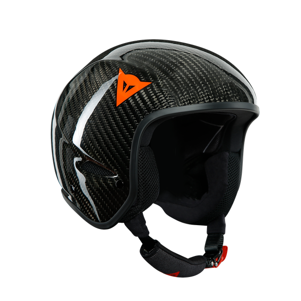 GT CARBON WC HELMET CARBON/RED-LOGO- Cascos