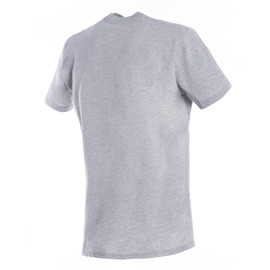DAINESE T-SHIRT GRAY-MELANGE/BLACK- T-Shirts