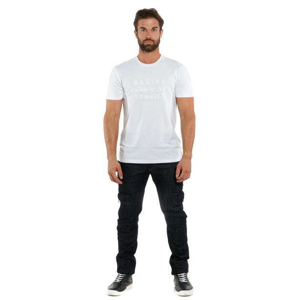 T-SHIRT PADDOCK WHITE/WHITE- Casual Wear