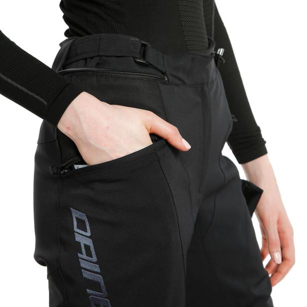TONALE LADY D-DRY® XT PANTS BLACK/BLACK- Women