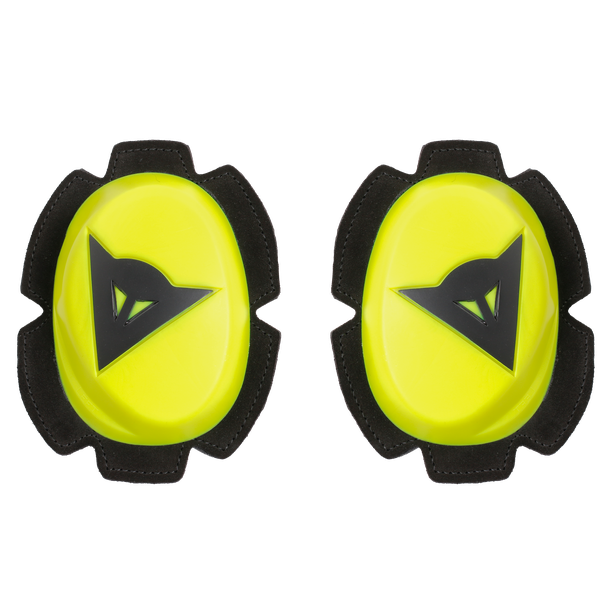 PISTA KNEE SLIDER FLUO-YELLOW/BLACK- Knieschutz