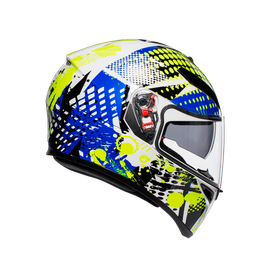 K-3 SV MULTI ECE DOT - POP WHITE/BLUE/LIME - K-3 SV