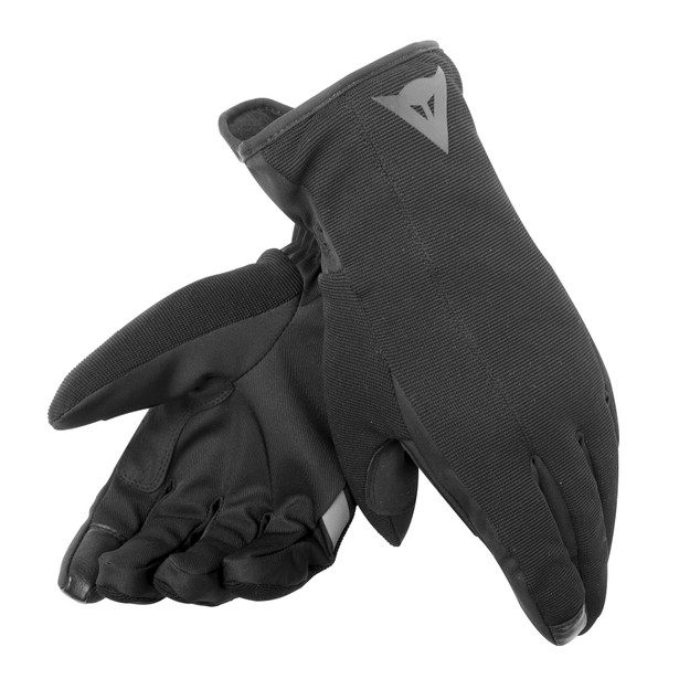 URBAN UNISEX D-DRY® GLOVES BLACK/BLACK- Gants