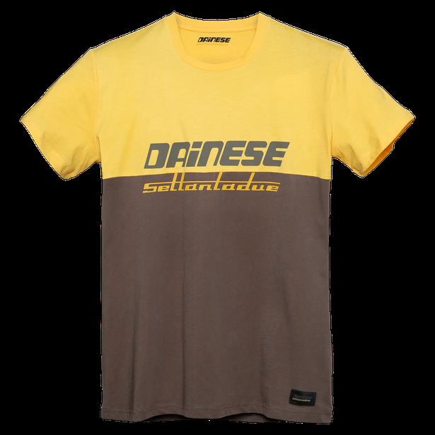 DUNES T-SHIRT MOREL/OLD-GOLD- undefined