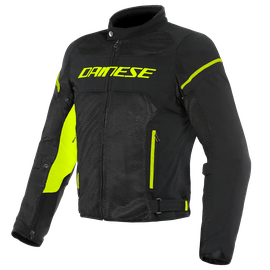 AIR FRAME D1 TEX JACKET BLACK/BLACK/YELLOW-FLUO- Textil