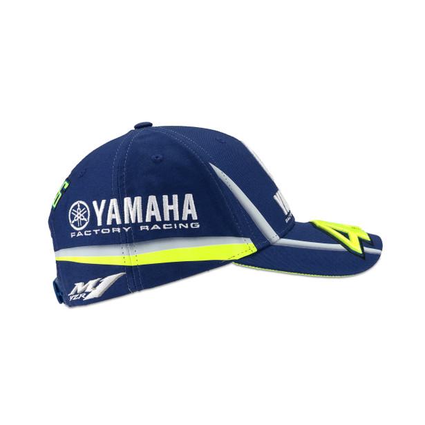 YAMAHA VR46 CAP BLUE-ROYAL-YAMAHA- VR46