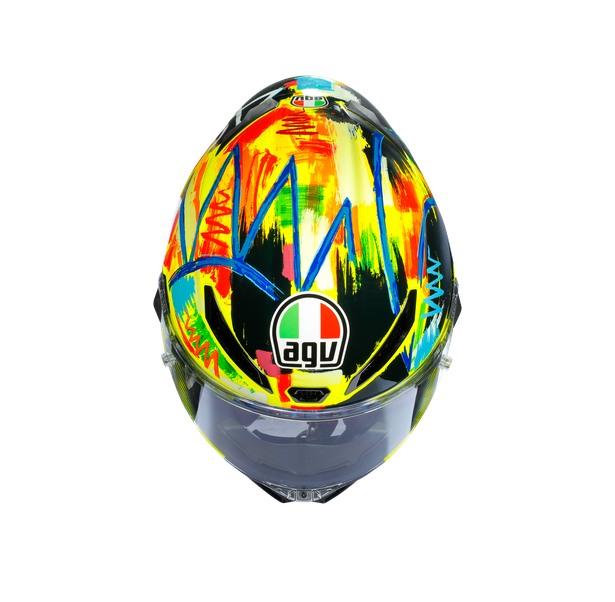 PISTA GP R E2205 LIMITED EDITION - ROSSI WINTER TEST 2019 - Valentino Rossi Helmets