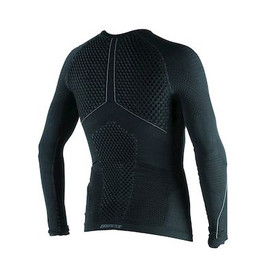 D-CORE THERMO TEE LS BLACK/ANTHRACITE- Camisetas