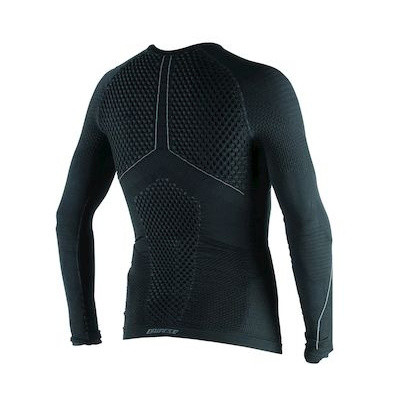 D-CORE THERMO TEE LS BLACK/ANTHRACITE- Maglie