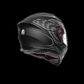 K5 S E2205 MULTI - TORNADO MATT BLACK/SILVER - K5 S