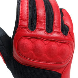 SABHA GLOVES POMPEIAN-RED/TAP-SHOE- Handschuhe