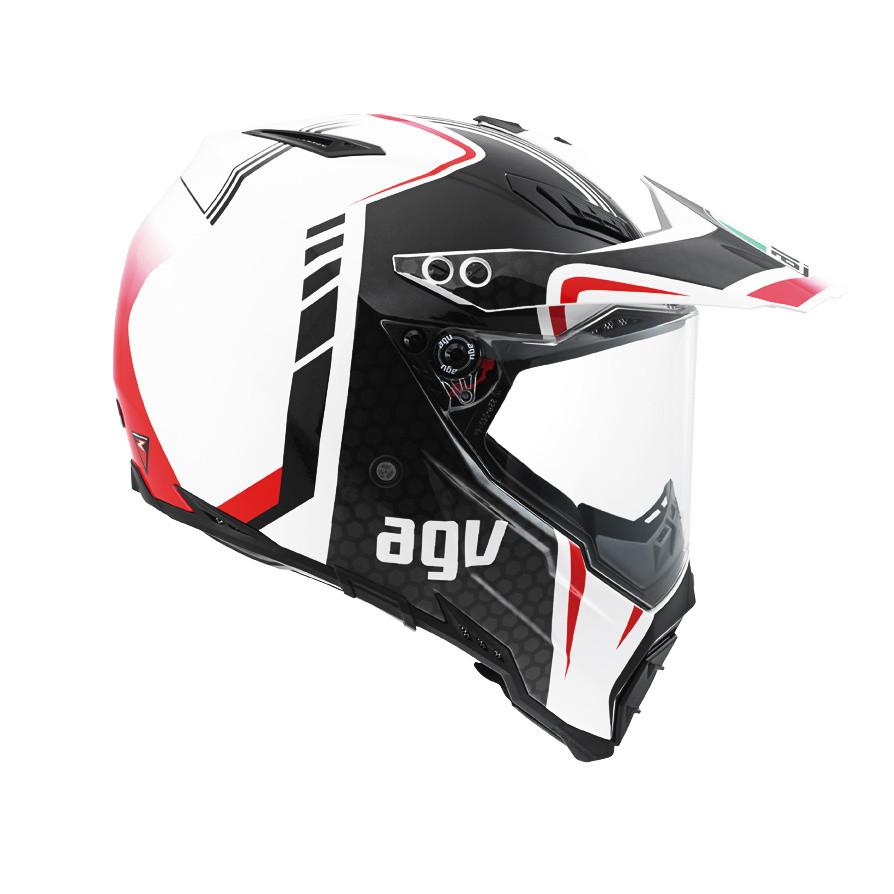 Off-road motorcycle helmet: Ax-8 Evo Agv E2205 Multi