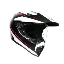 AX9 MULTI E2205 - PACIFIC ROAD MATT BLACK/WHITE/RED - AX9