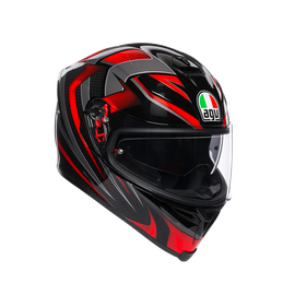 K5 S E2205 MULTI - HURRICANE 2.0 BLACK/RED