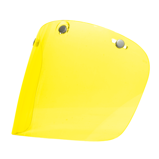 Visor FLAT LEG-2 YELLOW - Accessori