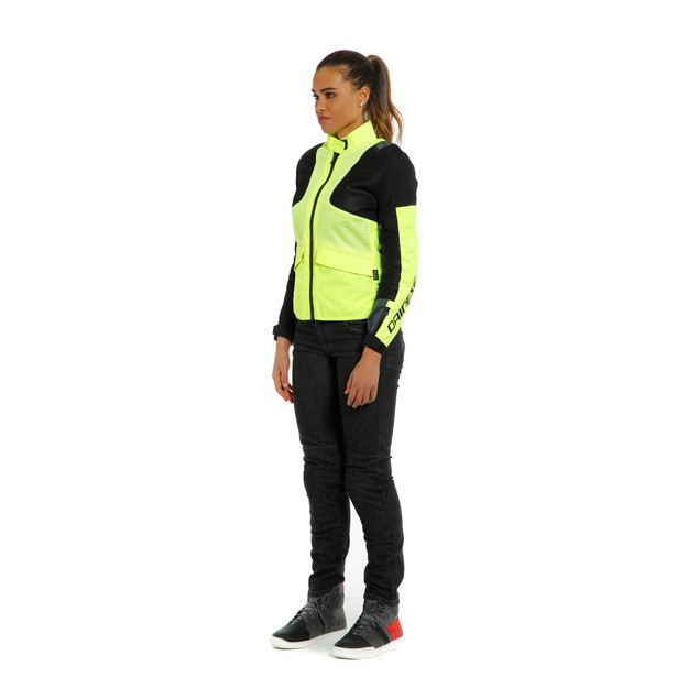 AIR TOURER LADY TEX JACKET FLUO-YELLOW/EBONY/BLACK- Textil