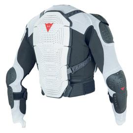MANIS JACKET PRO WHITE/BLACK- Rückenschutz
