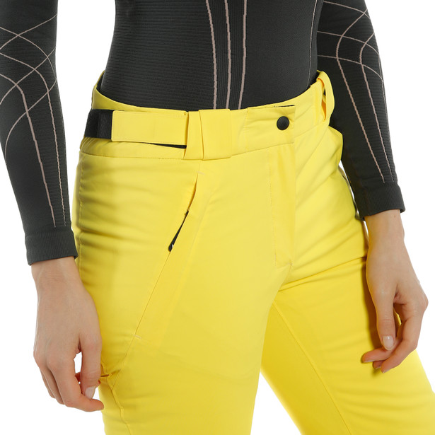 HP BARCHAN PANTS WMN VIBRANT-YELLOW- Women Winter Pants