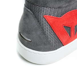 YORK AIR SHOES PHANTOM/RED- Textile