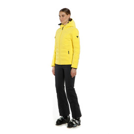 SKI DOWNJACKET SPORT WOMAN VIBRANT-YELLOW- Women Winter Downjackets