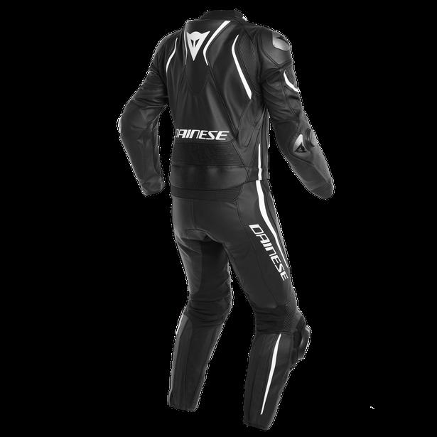 LAGUNA SECA 4 2PCS S/T SUIT BLACK-MATT/BLACK-MATT/WHITE- Two Piece Suits