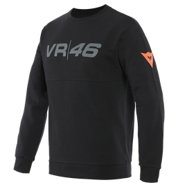 VR46 TEAM SWEATSHIRT BLACK/FLUO-YELLOW