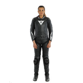 AVRO LADY D-AIR 2PCS SUIT BLACK/BLACK/WHITE- D-air