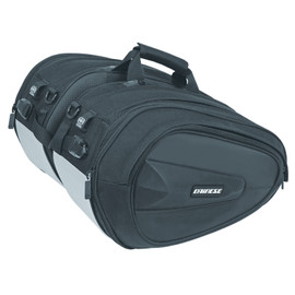 D-SADDLE MOTORCYCLE BAG STEALTH-BLACK- Bags