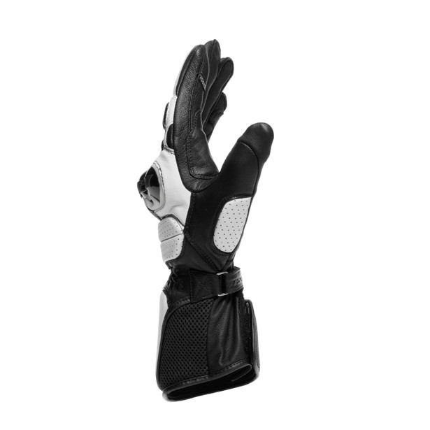 IMPETO GLOVES BLACK/WHITE- Leder