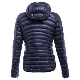 PACKABLE DOWNJACKET LADY BLACK-IRIS- Downjackets