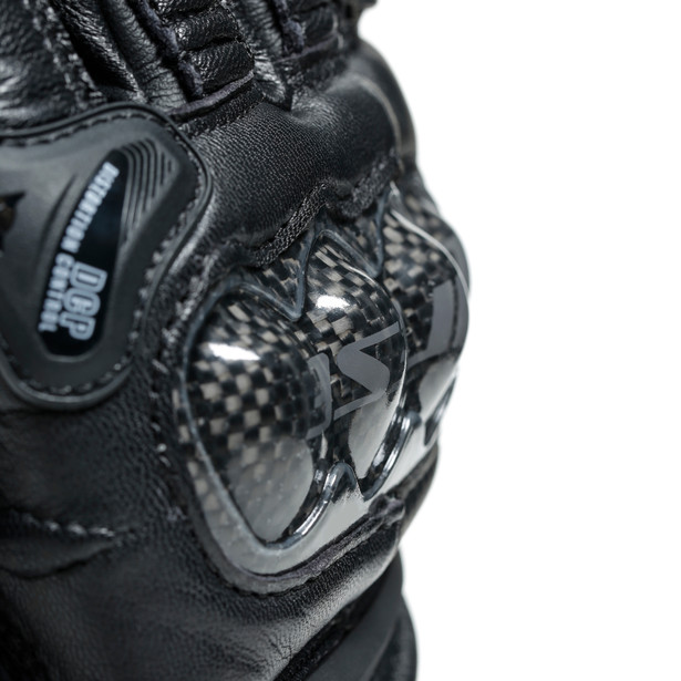 CARBON 3 LADY GLOVES BLACK/BLACK- Leather
