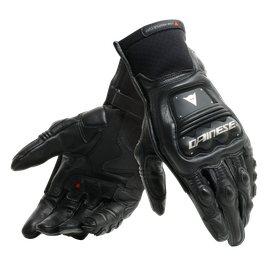 STEEL-PRO IN GLOVES BLACK/ANTHRACITE- Leder