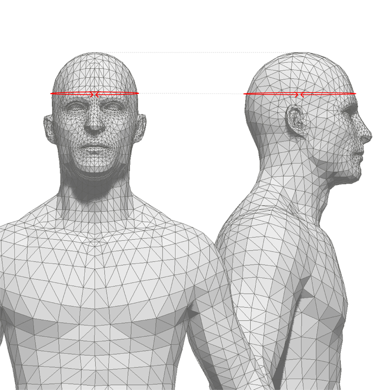 how to measure: head circumference