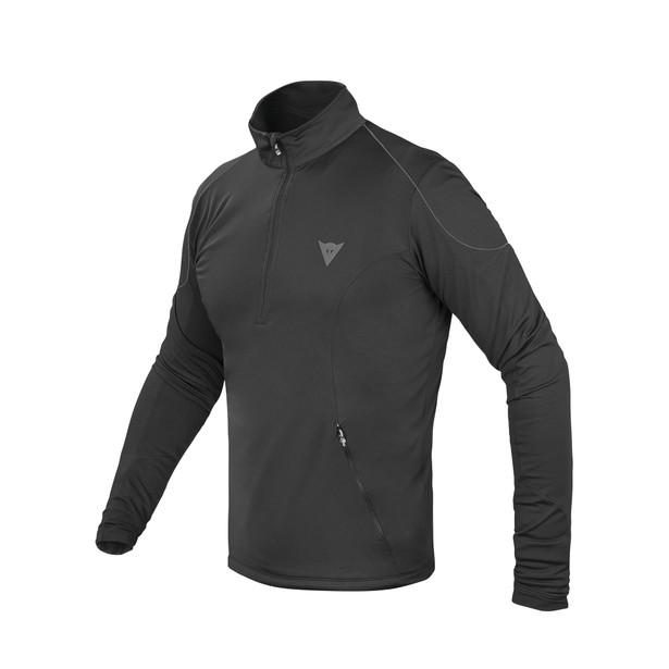 FLEECE MAN SMALL ZIP E1 BLACK/GRAY- Unterwäsche
