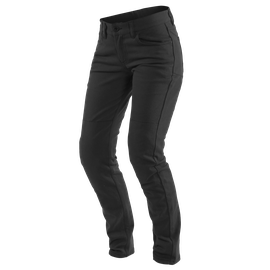CLASSIC SLIM LADY TEX PANTS BLACK