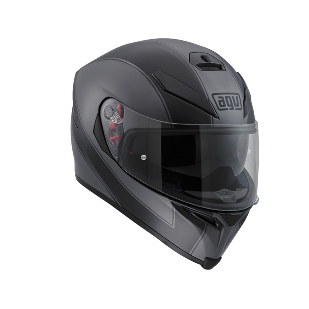 K-5 S E2205 MULTI - ENLACE BLACK MATT/GREY - Full-face
