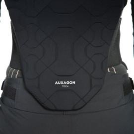 AUXAGON BACK PROTECTOR G1 STRETCH-LIMO/BLACK- Schiena
