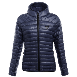 PACKABLE DOWNJACKET LADY BLACK-IRIS- Piumini