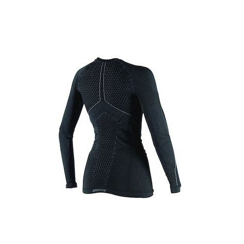 D-CORE THERMO TEE LS LADY BLACK/ANTHRACITE- Shirts